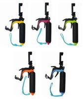 Wholesale GoPro new multi function handheld self timer rod Sports Camera buoyancy rod phone self timer GoPro camera diving self support