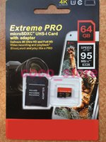 Wholesale Extreme GB Class10 Pro Micro SD TF Card MicroSDXC UHS HD Video SD Memory Card for Mobile Phones Tablet PC MB s x
