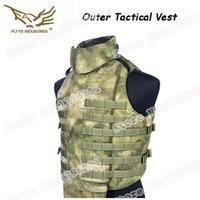Wholesale FLYYE Outdoor OTV Guard Vest Including Collar Protectors amp Jockstrap for Military D Cordura Waterproof Nylon FY VT T001