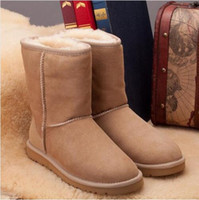 Wholesale Hot Selling Real Sheepskin Brand Classic Snow Boots For Women Winter Boots Retail Drop Shipping