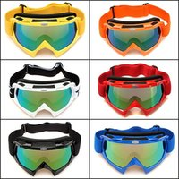 Wholesale Ski Snowboard Snowmobile Motorcycle Goggles Off Road Eyewear Color Lens T815