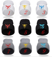 Wholesale 2016 New Mobile game poke Beanie Knitted Hat Berets For Women Men Hip Hop Casual Autumn Winter Cap Valor Mystic Instinct team hat