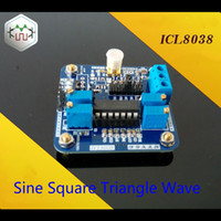 Wholesale ICL8038 Low frequency Signal Source module function generator Khz for Sine Square Triangle Wave