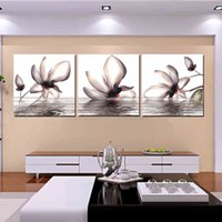 Wholesale Pieces unframed art picture Canvas Prints Coffee tea chinese characters chair leaf stone canyon mountain tree water flower