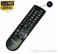 Wholesale Full HD P Mini camera Latest TV controller camera monitor Hidden Camera mini DVR TV Remote Controller Spy Camera Remote Control