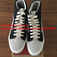 Wholesale Hip hop Justin bieber Fear Of God Low Skateboard Shoes Men Brand Joint Limited Edition Shoes High Quality Casual Shoes FOG Top Shoes