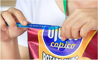 Wholesale New Arrival Magic Bag Sealer Stick Unique Sealing Rods Great Helper For Food Storage Sealing cllip sealing clamp clip