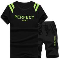Wholesale Mens Sweat Luxury Brand Tracksuit Men Summer Men s Sport Suits Moletom Masculino Cropped Trousers Sportswear Sweatshirt Men Sets