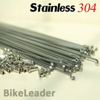 Wholesale Bicycle Parts Bicycle Spoke Stainless bike spoke g bicycle wheel silver black color with Spokes Cap nipple Bicycle Spokes