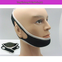 Wholesale Promotion Anti Snoring Chin Strap Neoprene Stop Snoring High Quality Chin Support Belt Anti Apnea Jaw Solution Sleep Device
