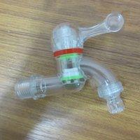 Wholesale PC Plastic Transparent Explosion proof Anti High Temperature No Corrosion Washing Machine Faucet