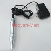 Wholesale New Permanent Makeup Machine Aluminum Rotary Motor Tatto Makeup Pen For Eyebrow Eyelash Lips PMM04