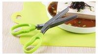 Wholesale Shredding scissors Stainless Steel kitchen scissors layers scissors
