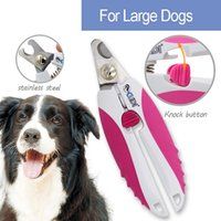Wholesale High quality Professional Pet Nail Clipper three sizes avaliable nail cutter with safety guard to prevent over cutting