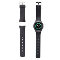 Acheter Samsung montre engrenage s2-Luxe Samsung R720 Wristband Bracelet montre de silicone Band Strap pour Samsung Galaxy S2 Vitesse SM-R720 R732