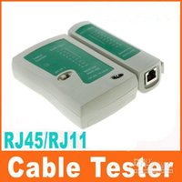 Wholesale RJ45 High quality High performance RJ11 RJ12 CAT5 UTP NETWORK LAN USB CABLE TESTER C119