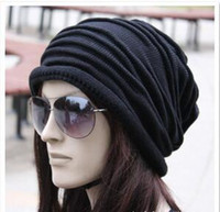 america holidays - 2016 Korean knit cap circle cap wool hat ruffle layers of foreign trade in Europe and America Hot holiday Christmas hats