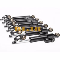 Wholesale Motorcycle Universal Steering Damper Stabilizer Universal Adjustable Motor Steer Parts Accessories Top Quality Black color