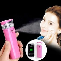 beauty banking - Potable Facial Sprayer Rechargeable Nano Handy Mist Spray Atomization Humectants Beauty Device with Bank Power