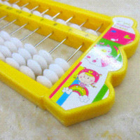 Wholesale Plastic Fish Shaped Calculation Tool Soroban Abacus for Children Random Color Math Toys Cheap Math Toys