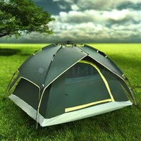 Wholesale Waterproof Person Camping Tent Double layer Family Hiking Automatic Instant