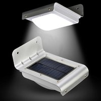 Wholesale Wall Lamps LED Solar Powered Super Bright Waterproof PIR Motion Sensor Light Control for landscape Garden Patio Wall Outdoor Lights