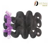 Wholesale 7A Malaysian Hair Weave pc Natural Color Brazilian Peruvian Indian Mongolian Hair Bundles Body Wave Human Hair Extension