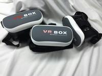 Wholesale VR mobile phone D virtual reality helmet smart glasses custom stereo storm mirror