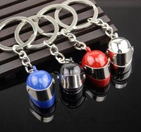 bicycle key chain - 20PCS New D Car Motorcycle Bicycle Helmet Auto Key Chain Ring Keychain Keyring Four Color
