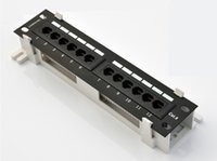 Wholesale Fast Home Data Hub Port Cat6 Unshielded Wallmount or Rackmount Patch Panel