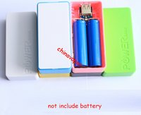 backup board - 20pcs Perfume USB Power Bank circuit board External battery Backup li ion Battery Banks Charger Emergency Power Pack for cell phone