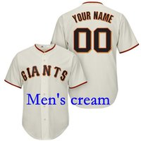 Wholesale Baseball jersey San Francisco Giants Custom jersey Personalized any name any number name number all Stitched