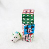 Wholesale Hot Sale Magic Cube for Children Gift Educational Puzzle Magic Cube Digital Magic Cube Classic Game Toys to Children CM