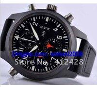 automatic water guns - luxury TOP GUN Split Second IW379901 MM quartz Men s wristwatches designer fashion watches