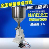 Wholesale Manual Filling Machine ml for cream paste filling machine Manual Paste filler pneumatic liquid filler perfume