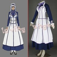 Wholesale Black Butler II Hannah Anna Fellows Cosplay Party Costume Dress