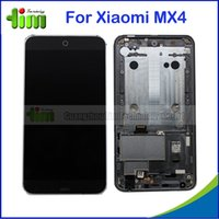 bar monitor - 10 For Meizu MX4 Touch Screen Digitizer Panel Sensor Glass LCD Display Panel Monitor Assembly with Frame Bezel Tim05