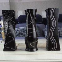 achat en gros de ceramic and porcelain vase-mode européenne Céramique Vase, porcelaine Vases décoratifs, vaso pour la décoration maison moderne, table Vase