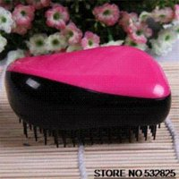Wholesale Britain Imported Quality Candy Colors Magical Comb Princess Hairdressing Combs Travel Essentials Hair Tools