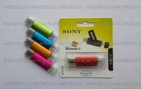 Wholesale DHL delivery GB GB GB GB GB SONY Metal Mini OTG usb flash drive USB2 Storage disk flash pendrive For Smart phone computer