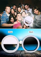 Wholesale Portable Selfie LED Phone Camera Ring Light For All IPhone Pad Laptop makeup