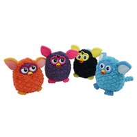 animated electronics - Animated Phoebe Boom Interactive Play Plush Toys Electronic Pets Owl Elves Talking Repeating