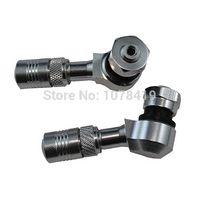 atv tyres - High Quality CNC Alloy Tyre Air Valve Car Tire Stem For ATV Silver valve glass