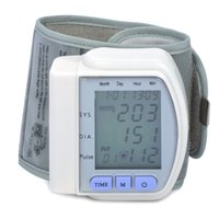 Wholesale Ultrafire1 quot LCD Pulse Scanning Wrist Watch Blood Pressure Monitor Silver
