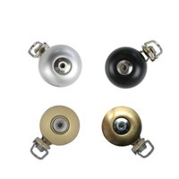 Wholesale New Alloy Stainless Ordinary Bicycle Ring Bell Handlebar Mini Bike Horn Loud Sound MTB Bicycle Accessories