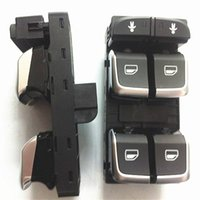 Wholesale VW OEM Chrome Electric Power Window Master Control Switch For Audi A6 S6 C7 A7 Q3 RS6 RS7 GD B