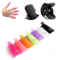 Wholesale Reusable Nail Art Soak Off UV Gel Polish Clip LB Remover Wrap Caps Tools