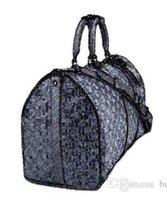 Cheap 2017 Waterproof Men Women PU leather Travel Bags Luggage Bag Handbag Business Shoulder bag Duffel Bags High Capacity 45cm