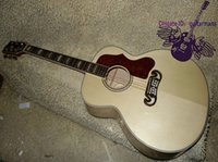 best guitar woods - Natural J200 Acoustic Guitar Maple Board Best Selling Acoustic Guitar High Cheap