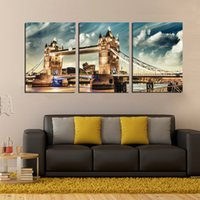 big boats pictures - unframed Pieces art picture Canvas Prints London Tower Bridge Big Ben Wooden boat potted flower balcony tree Wine Glass
